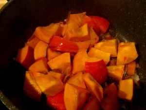 Kürbissuppe marocain